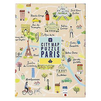 palapeli Pariisi kartta 250 kpl itse eristäminen