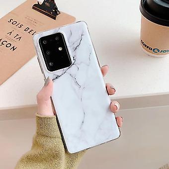 Samsung Galaxy S20 + |Caixa de mármore macio