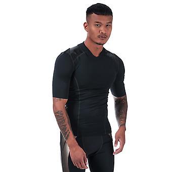Men's Under Armour Perpetual Superbase Half Sleeve T-Shirt in Black