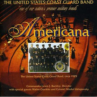 Sousa/Beckel, Jr./Copland/Buckley/Porter/Gould/Werl - Americana [CD] USA import
