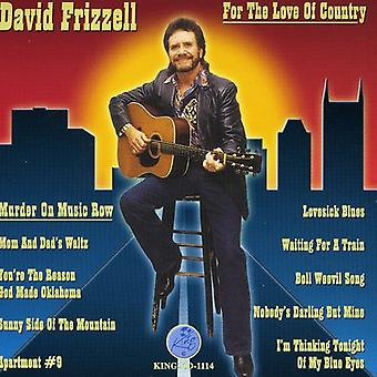 David Frizzell - For Love of Country [CD] USA import