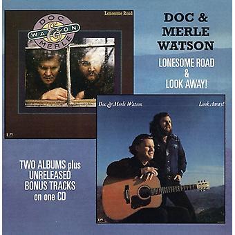 Doc Watson & Merle - Lonesome Road/Look Away [CD] USA import