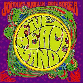 Corea/McLaughlin - Five Peace Band Live [CD] USA import