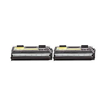 RudyTwos 2x Replacement for Brother TN6600 Toner Unit Black Compatible with HL-1030, 1200, 1220, 1230, 1240, 1250, 1270, 1270N, 1430, 1440, 1450, 1470, 1470N, P2500, P2600, MFC-8500, 8500J, 8600, 8600