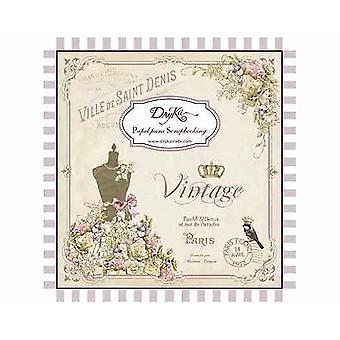 DayKa Trade Vintage 8x8 Inch Paper Pad