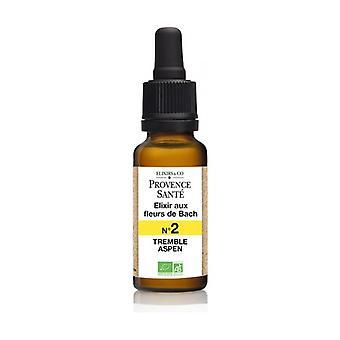Organic aspen 20 ml of floral elixir