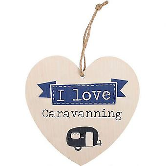 Something Different Love Caravanning Hanging Heat Sign