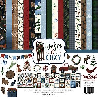 Echo Park Warm & Cozy 12x12 Inch Collection Kit