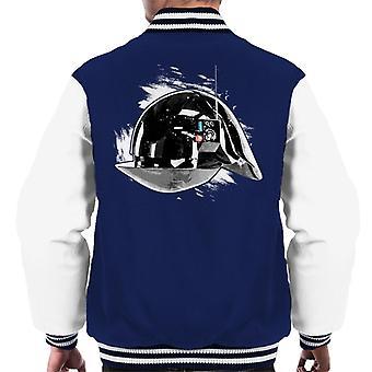 Opprinnelige Stormtrooper Imperial Gunner hjelm menn Varsity jakke