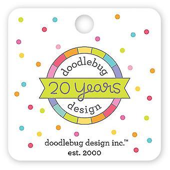 Doodlebug Design 20. Geburtstag Sammler Pin