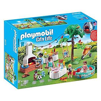 Playset City Life Garden Party Playmobil 9272 (38 pcs)