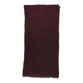 Maison Margiela S30te0175s17443248f Men's Burgundy Wool Scarf