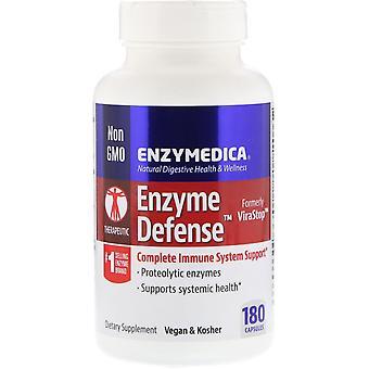 Enzymedica, Enzyme Defense (Formerly ViraStop), 180 Capsules