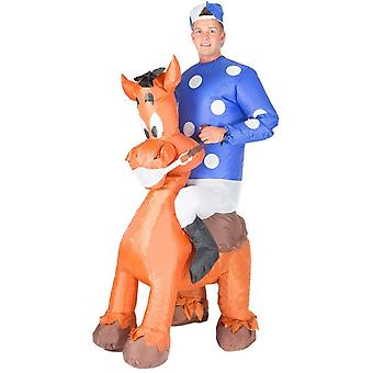 Inflatable Jockey Halloween Costume Trick Or Treat