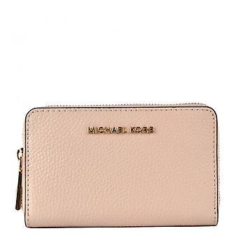 MICHAEL Michael Kors Jet Set Small Zip Around Wallet Soft Pink
