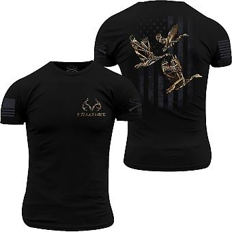 Grunt Style Realtree Max-5 - Goose Flag T-Shirt - Zwart