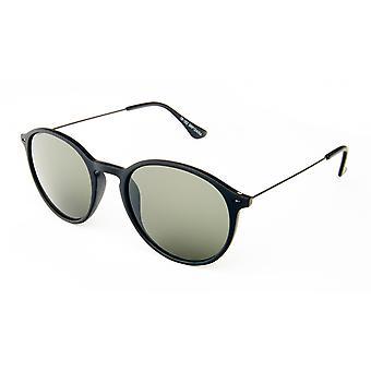Sonnenbrille Unisex    Wanderer schwarz/grün (20-155)