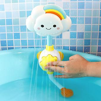 Extérieur Bubble Machine Music Kids Bath Toy, Automatic Bubble Maker Baby
