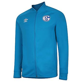 2020-2021 Chaqueta de presentación Schalke (Azul)