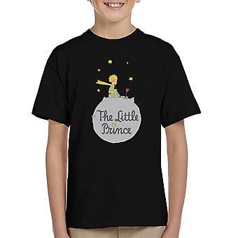 Den lille prins asteroide logo Kid's T-shirt