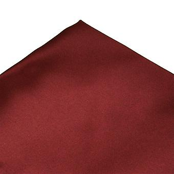 Solmiot Planet Plain Bordeaux Wine Red Pocket Square Nenäliina