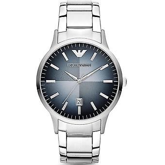 Emporio Armani AR2472 Classic Blue Textured Dial Men's Watch