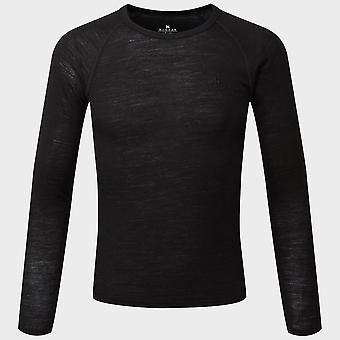 Ny Hi-Gear Kids' Merino Langærmet Top Black
