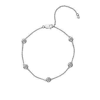 Hot Diamonds Silver Tender Intermittent Bracelets DL580