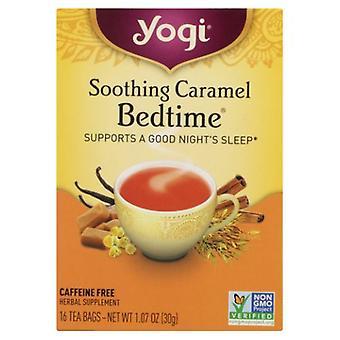Yogi Soothing Caramel Bedtime, 16 bags, 1.07 oz (30 g)
