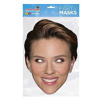 Máscara-arade Scarlett Johansson Máscara facial