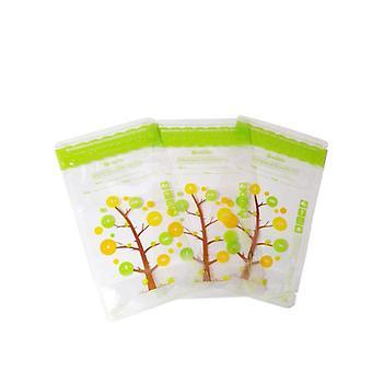 112pcs läckagesäker, steriliserad frys bröstmjölk Förvaringsväska