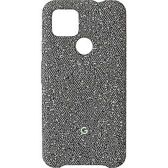 Couverture officielle google pixel 4a 5G de cas de tissu - gris statique (GA02064)