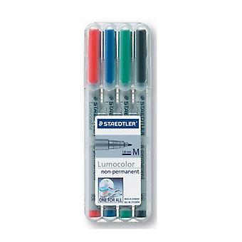 Staedtler LumoColour Water Soluble Markers 4-Pack