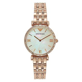 Armani Ar11294 Emporio Rose Gold Womens Watch