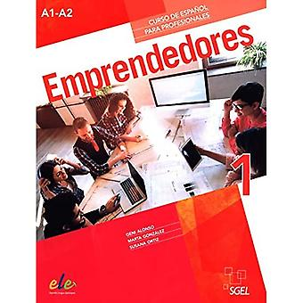 Emprendedores: Levels A1-A2:� Spanish Course for professionals in two volumes (Emprendedores)