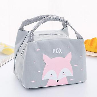 Cartoon Animal Baby Food Storage Thermo Bag, Food Warmer Insulation Bag Milk