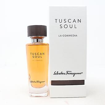 Tuscan Soul La Commedia by Salvatore Ferragamo Eau De Toilette 2.5oz Spray New
