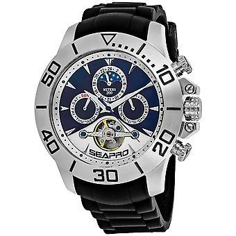 Seapro Men's Montecillo reloj de marcación azul y blanco - SP5122