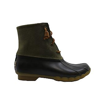 Sperry Women's Shoes Saltwater Rubber Closed Toe Ankle Rainboots