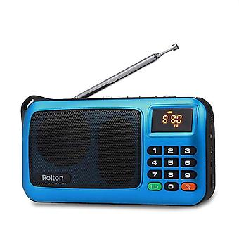 Mini Fm Portable Radio Speaker And Mp3 Music Player