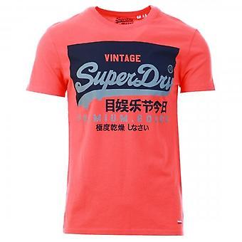 Superdry Orange Label Vintage T-Shirt rosa 9SU