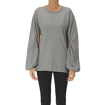 N°21 Ezgl068243 Women's Grey Cotton Sweatshirt