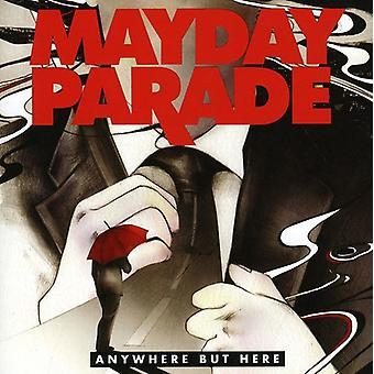 Mayday Parade - overal maar hier [CD] USA import