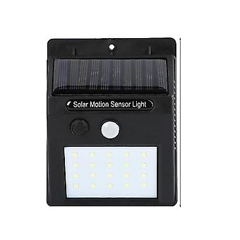 Infrared Sensor Wireless Solar Light Waterproof Outdoor Garden Wall Light