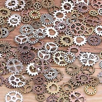 Mix Alloy Mechanical Steampunk Cogs & Gears Diy Charms