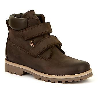 FRODDO Velcro Tex Boot Dark Brown