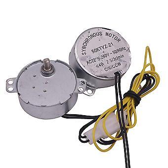 AC 220v ミニインキュベーター の孵化機械のための同期モーター