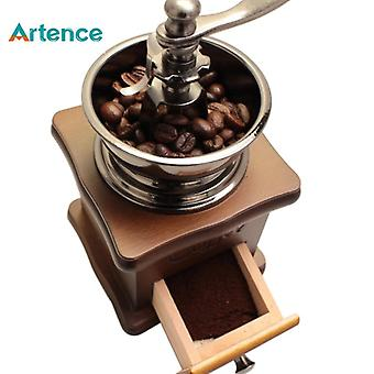 Manual de cafea Grinder Machine (maro)