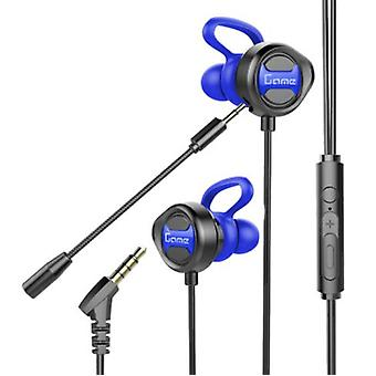 E-sports Game Dedicated Earphone In-ear Wired Headset With Microphone, Suitable For Mobile Phones And Computers