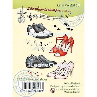 Leane Creatief Dancing Shoes Clear Stamps